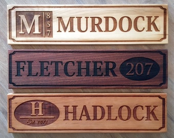 Perfectly Personalized House Signs