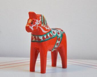 Swedish Dala Horse by John Gudmunds