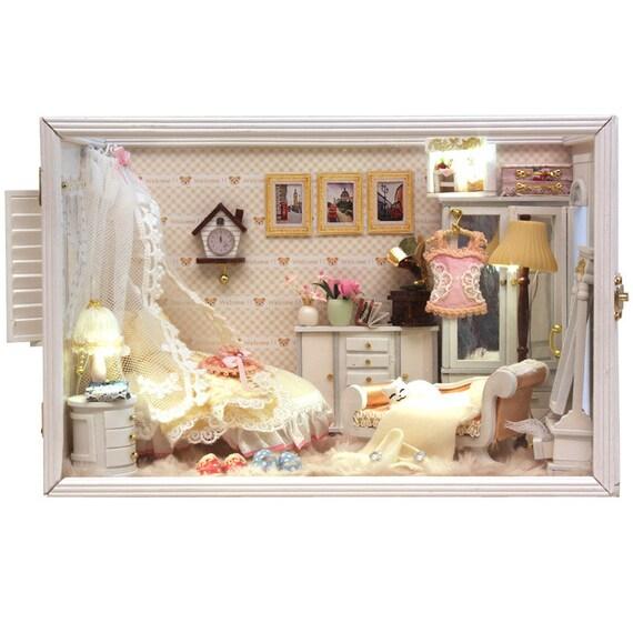 Small Room Box Kit Dhw021: DIY Princess Room Miniature Music Box Handcraft Kit Birthday