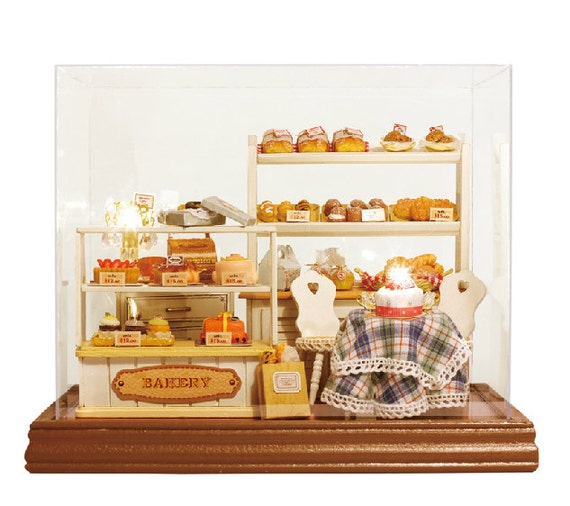 articles similaires boulangerie bricolage magasin miniature music box model kit miniature. Black Bedroom Furniture Sets. Home Design Ideas