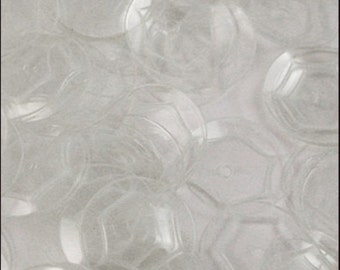 Crystal Clear Cupped Sequins 8mm - JR02684