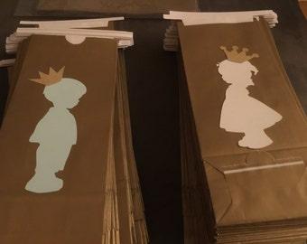Royal Prince/ Royal Princess Favor Bags