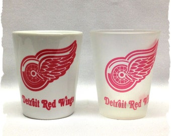 Detroit Red Wings Shot Glass