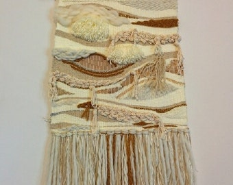 S A L E: Large Handwoven wall hanging - Strata