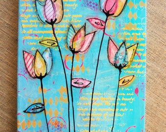 Mixed Media Art Canvas
