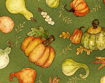 Gourds Fabric Etsy