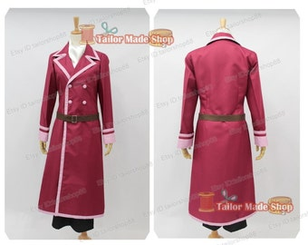 Fairy Tail Freed Cosplay Costume
