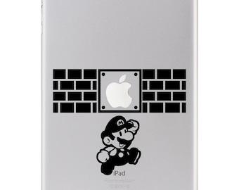 Sticker iPad - Mario