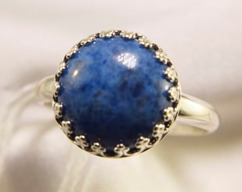 Denim Lapis Sterling Silver Ring