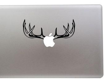 Deer antlers vinyl sticker for Apple Macbook Air/Retina/Pro