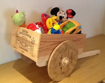 French wooden cart