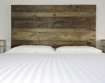 reclaimed wood headboard queen etsy. Black Bedroom Furniture Sets. Home Design Ideas
