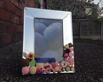 Photo Frame with Sweet Decodens