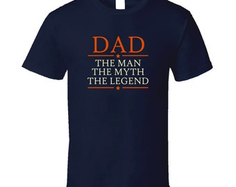 Dad The Man The Myth The Legend T Shirt Father T Shirt Dad T Shirt Tee Shirt Gift Father's Day