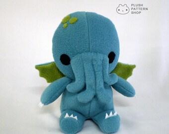 Cthulhu Plush Toy Stuffed Monster