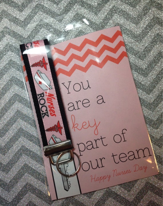 Items Similar To Nurse Appreciation Gift Key Fob Set On Etsy
