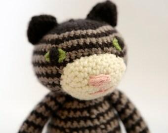 Crochet Tabby Cat Doll