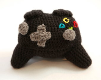 Crochet Video Game Controller Rattle