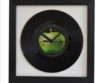 Paul McCartney-Another Day-Vintage 7″ Single-Framed Wall Clock