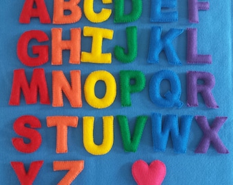 Stuffed Felt Alphabet