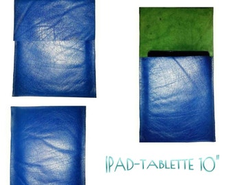 SpecialFilters case cover pouch leather vintage Blue Buffalo recycled to Ipads and tablets 10 inch