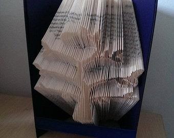 Family tree book folding pattern