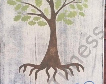 SVG, Family Tree, Family Roots, Like Branches on a Tree, Roots Keep Us Together,  Cutting File, Mothers Day Gift