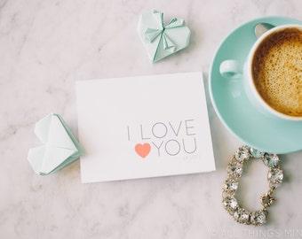 I Love You | Love Card