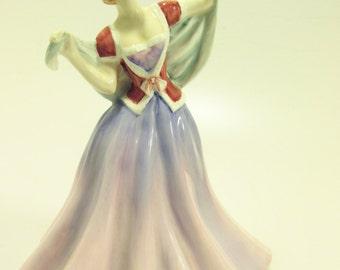 "Royal Doulton English Porcelain Figurine- ""June"" HN2991"