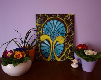 Abstract painting // Acrylics // Nemo