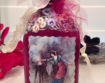 Faerie Magick & Flowers Wish Bottle