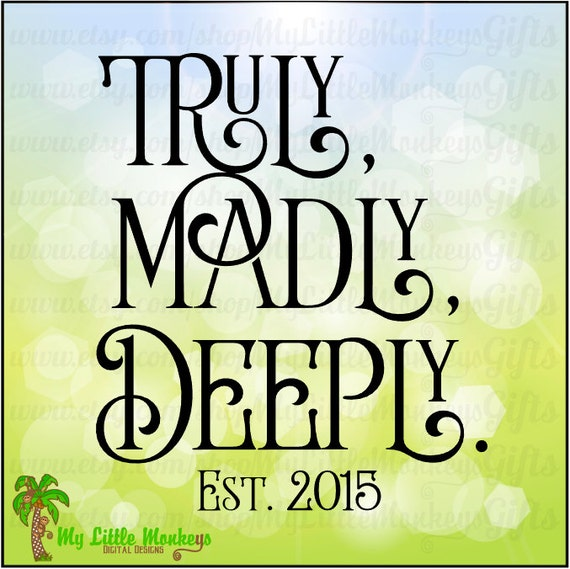 truly madly deeply book reviews