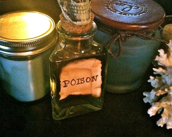 Decorative Poison Bottles