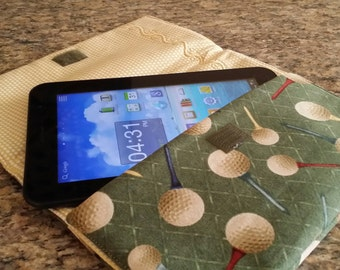 Tablet Bag (Golf Green) (Tablet not Included)