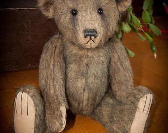 "Henry, 17"" OOAK Mohair Fur Artist Bear by Patricia Bruce Bears"