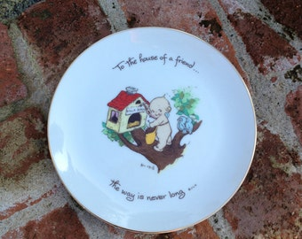 Kewpie Friendship Collector's Plate