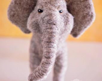 Needle Felted African Elephant