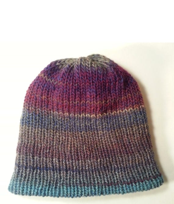 reversible knit s beanie hat mens wool hat wool by