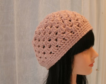 Organic Cotton Crochet Hat