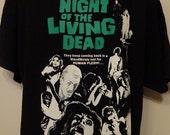 Night Of The Living Dead T-Shirt Unisex Adults Horror Splatter George Romero