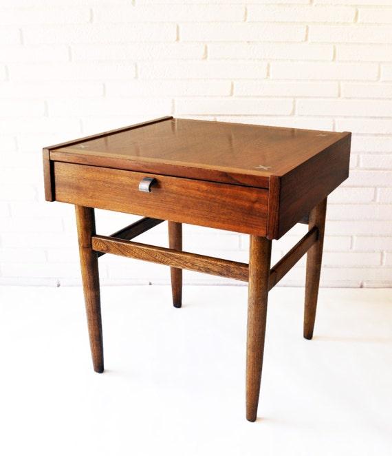 American Of Martinsville Mid Century Coffee Table: American Of Martinsville Side Table Aluminum X