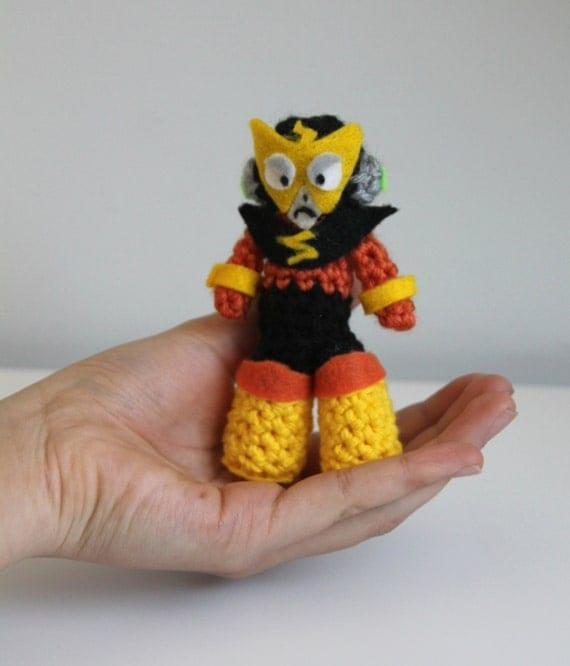 Snap Wood Man Mega Man Crocheted Plush Photos On Pinterest