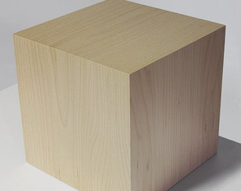 "Lamp design wood ""LUZOCUBE"""