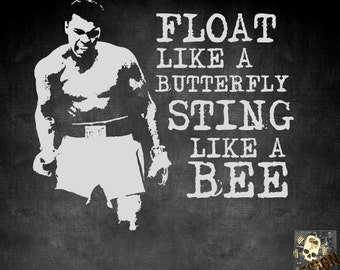 Float like a butterfly and sting like a bee