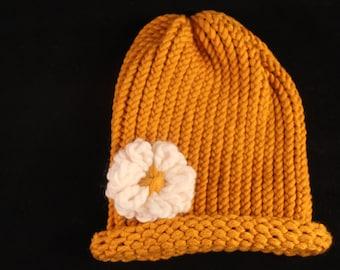 Yello Knit Hat