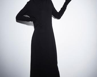 SALE Long turtleneck dress