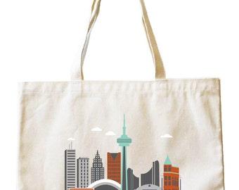 Tote Bag - Toronto City Living Design - Show Off Your Favorite City