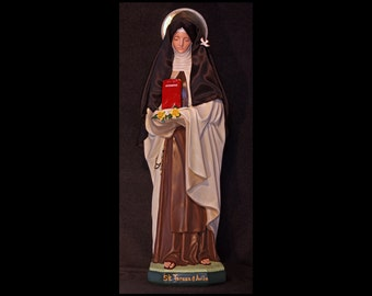 "St. Teresa of Avila 26"" Catholic Christian Saints Plaster Religious Statue"
