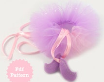 Ballerina 'Add-on' E-Pattern for use with Stitch Girl or Bobbin Girl E-Pattern
