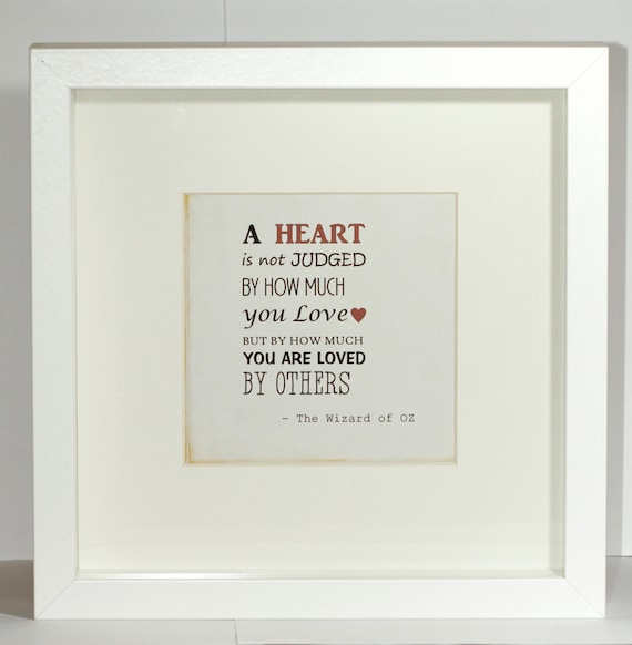 Love Quote Picture Frames Unique Framed Love Quote Printlove Giftfathers Day Gifthouse